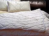 Merino Wolle Bettdecke Schurwolle Übergang König BETTDECKE 220 x 240 cm, Mittelschwer 8-10 Tog,Warm, 100% Merino-Schurwolle 100% Baumwolle