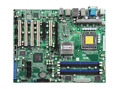 Supermicro C2SBC-Q (Bulk Pack) Intel Q35 LGA 775 (Socket T) ATX - Motherboards (DDR2-SDRAM, DIMM, 667,800 MHz, Dual, 1.8 V, 1GB,256MB,2GB,512MB) (Motherboard Mb 512)