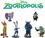 Bullyland Disney Zootrópolis - Todas 6 Figuras