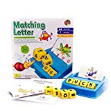 Alphabet Letter Word Match and Spell Board Games