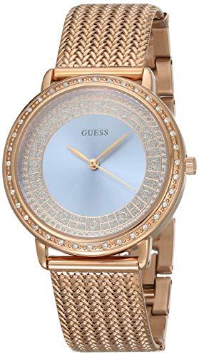 a7c826cbcfe8 Montre Guess Bleu Femmes Willow W0836L1 rose acier plaqué or