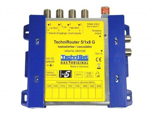 TechniSat 0000/3290 Techni Satellite Router 5/1x8 G -