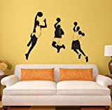 Lozse Sport Basketball Individualität Wandaufkleber Boy bedroom Poster