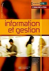 Information et gestion 1e STG by Frédérique Brossillon (2005-04-20)