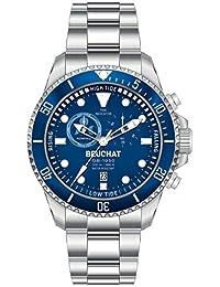 Reloj Beuchat Collection gb1950movimiento Indicador de mareas etanche 200metros beu1953–2