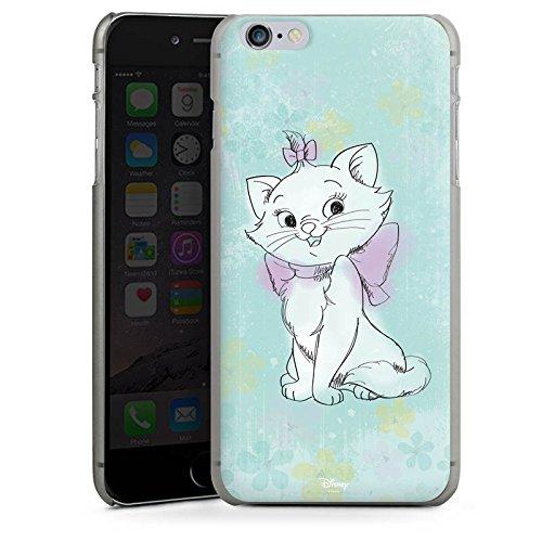 Apple iPhone 7 Silikon Hülle Case Schutzhülle Disney Aristocats Marie Fanartikel Merchandise Hard Case anthrazit-klar