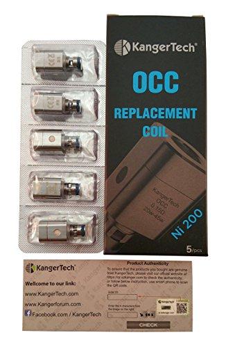 Kanger Subtank Nickel NI-200 OCC Coils 5-Pack 0.15ohm