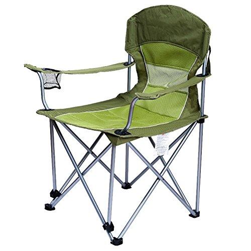 WAYMX Chaise Pliante en Plein air Out Voyage Loisirs Plage Chaises Toile Déjeuner Pause Confortable Repos Chaise Charge Portant 120 kg