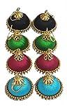 Soundarya Lahari 4 Pairs of Silk / Resha...
