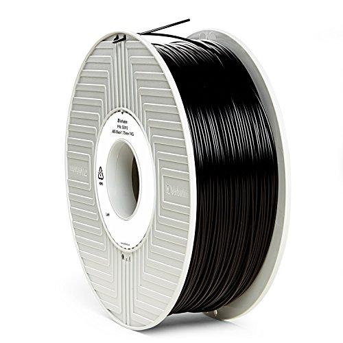 Preisvergleich Produktbild Verbatim 55010 ABS Filament, Haspel, 1 kg, 1,75 mm, Schwarz