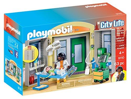 Playmobil 9110 Hospital Play Box Figura construcción