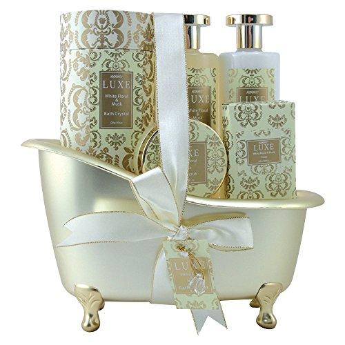 gloss-coffret-baignoire-de-bain-luxe-white-floral-et-musk-5-pieces