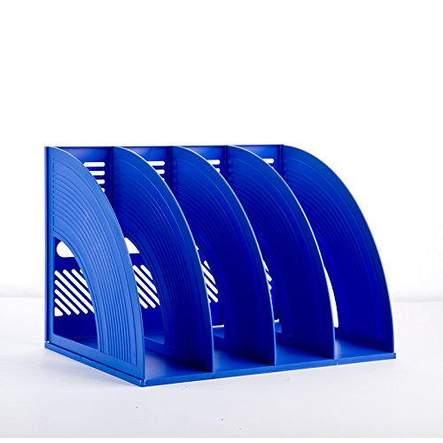 jlysheng File 4 creative Rack forniture per ufficio Bar scatola di archiviazione file desktop file nella casella File di supporto file di colonna Basket