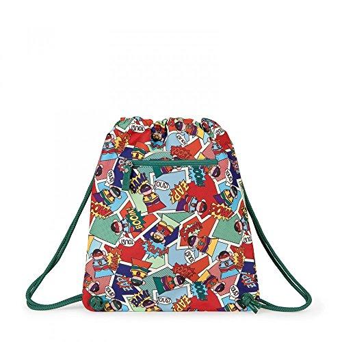 Tous Mochila pequeña School Superhero de Lona multicolor