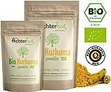 Bio-Kurkuma-Pulver 1kg Kurkumawurzel gemahlen als Gewürz für Paste oder Curcuma Latte natürlich vom-Achterhof - 2