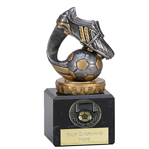 12,1cm Classic Flexx Kofferraum und Ball Trophy Award gratis Gravur bis zu 30Buchstaben 137. FX005 -
