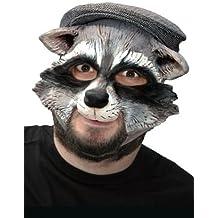 Witziger Waschbär Partymaske
