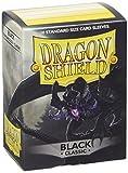 Arcane Tinmen 10002 - Dragon Shield Standard Sleeves, 100 Stück, schwarz