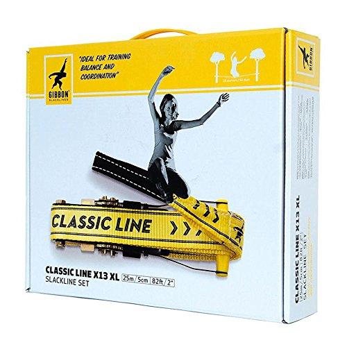 Gibbon Slackline Set Classic Line X13 XL, 25 m lang, 5 cm breit - 7