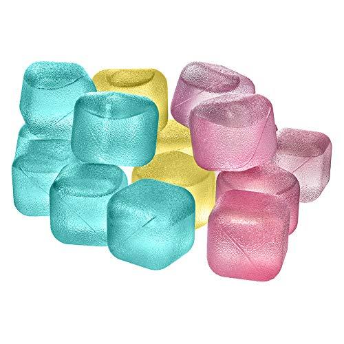 ORION Eiswürfel bunt Kunststoff, Form für Eis, für Eiswürfel 18 St. wiederverwendbar Cube Würfel