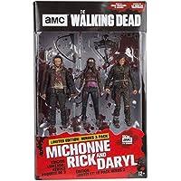 The Walking Dead 14523 Rick, Daryl And Michonne TV Hero Figure