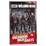 The Walking Dead 14523 Rick, Daryl et Michonne TV Hero Figure