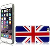 Union Jack Backcover TPU Gel Hülle Schutzhülle Tasche Case für Apple iPhone 6s / iPhone 6
