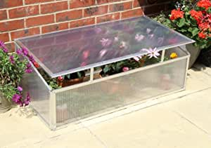 Lacewing 3ft 6in x 1ft 10in Deluxe Aluminium Cold Frame