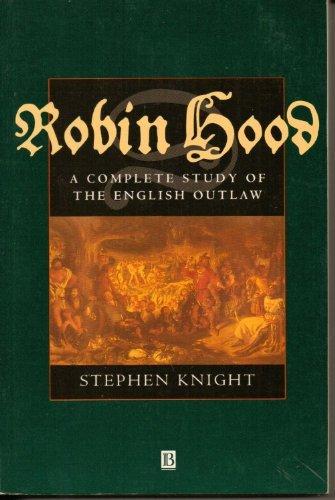 Robin Hood by Stephen Knight (1994-12-12)