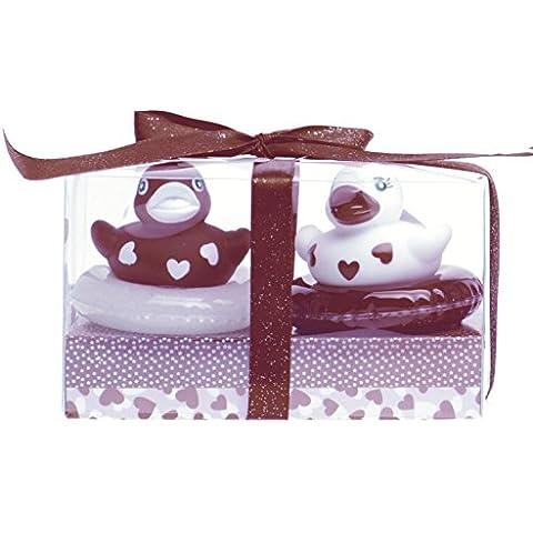Salón de belleza Caja de regalo 90 + Gel de Baño y Ducha Boya pato Forma