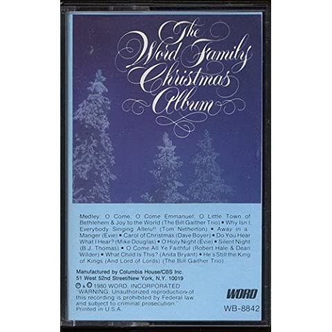 The Word Family Christmas Album by Evie Karlson (1980-05-04)