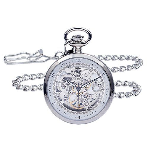 regent-hills-vintage-silver-brass-case-open-face-skeleton-pocket-watch-with-chain-5079cpa2bk