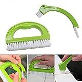 Beafavor Le nettoyant multifonctionnel de brosse de coulis en plastique brosse l'outil de solvant de moule pour la cuisine de salle de bains