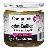 ALAIN MARTIN Coq au Vin de Saint Emilion Cuisiné aux Cèpes -