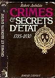CRIMES ET SECRETS D ETAT