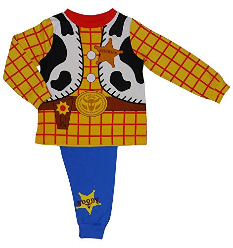 Disney Toy Story Woody Neuheit Pyjamas - im Alter von 18 M - 3-4 years / 104 cms (Loungewear Baby-jungen-pyjama)
