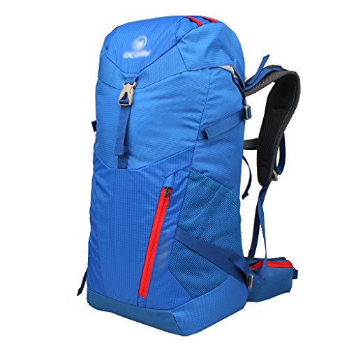 zaino trekking Outdoor 30L Alpinismo spalla degli uomini borsa e Donne Leisure Travel zaino multifunzionale Ultra-light Zaini da escursionismo ( Colore : C , dimensioni : 30L-53*26*22cm ) B