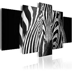 murando - Cuadro en Lienzo 200x100 cm - Impresion en Calidad fotografica - Cuadro en Lienzo Tejido-no Tejido - Cebra Animales 030216-19