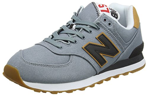 New Balance Herren ML574Y Yatch Pack Sneaker, Blau (ML574YLD), 45 EU (New Herren Balance)