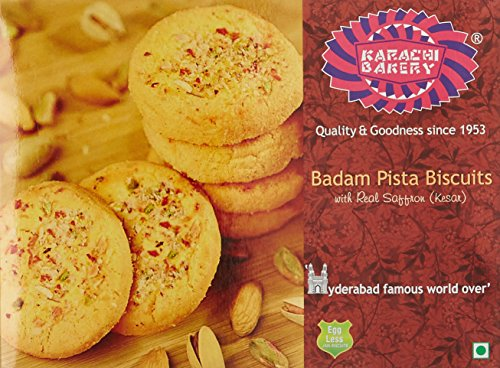 Karachi Bakery Badam Pista Biscuits, 400g 51QoOy7nDpL