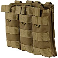 WYNEX M4 M16 AR-15 Tipo Revista Bolsa Triple mag Holder Open-Top Military Airsoft CS Juego