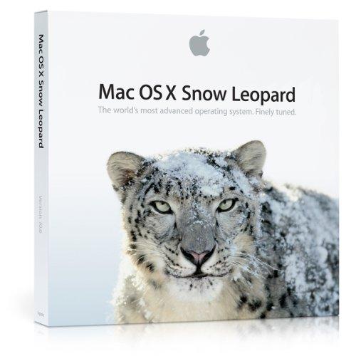 Apple Mac OS X Snow Leopard 10.6.3/NL Retail (Os Leopard Snow X)