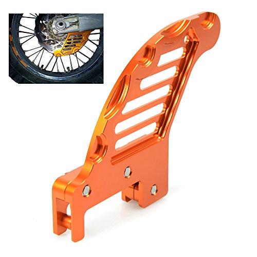 Motorrad Bremsscheibenschutz Rear Brake Discs Guard Protector Für Husaberg TE 125 250 300 2011-2014 Husaberg FE FS FX 250 350 390 450 501 570 Husqvarna TC FC TE FE KTM SX XC XC-W EXC (Orange)