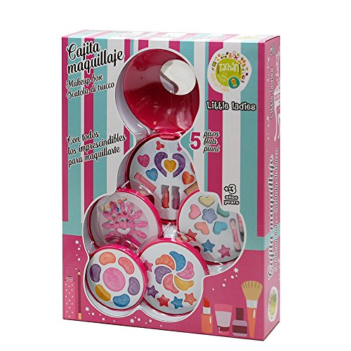 Tachan Estuche de Maquillaje 5 Pisos Cajita (CPA Toy Group Trading S.L. 77429008