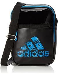 Adidas Leisure Organizer Borsa sportiva, Unisex, Set di asaiugamani, ADIACC02, Nero, blu, 18 x 25 x 7 cm