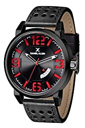 Daniel Klein Analog Black Dial Mens Watch-DK10878-2
