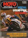 moto journal n°599 special GP de france.essais suzuki 1100 GK 1100 kawasaki ZX