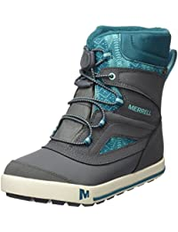 Merrell Snow Bank 2.0 Waterproof, Zapatos de High Rise Senderismo para Niñas