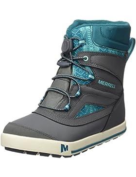 Merrell Snow Bank 2.0 Waterproof, Zapatos de High Rise Senderismo Para Niñas