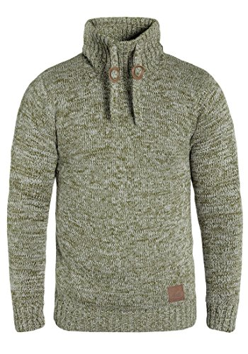 SOLID Phirance - Pull en Maille - Homme Ivy Green (3797)